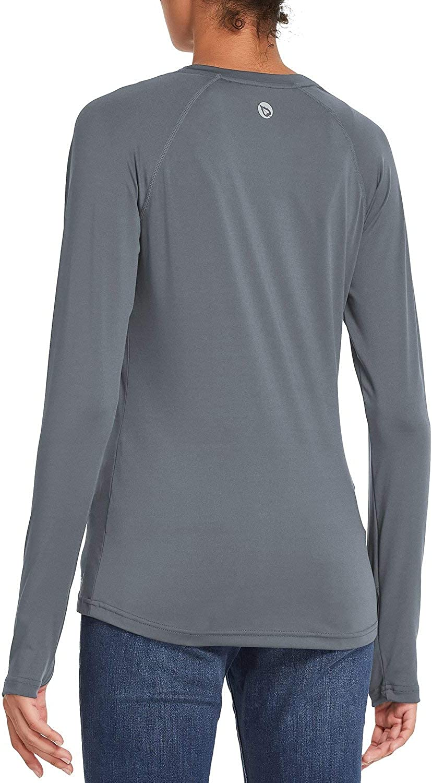 BALEAF Womens Long Sleeve Shirts Upf50 with Thumbhole Shirt Lightweight Quick Dry Hiking Fishing
