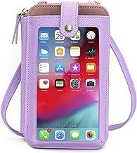 Womens Crossbody Bag Touch Screen Small Cellphone Shoulder Purse Travel Card Wallet Handbag...