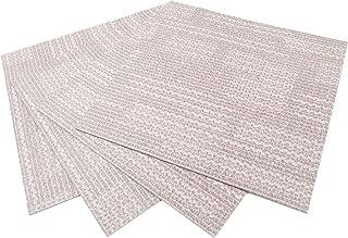 ROSEROSA Peel and Stick Engineered Vinyl Plank and Square Tiles Marble Carpet Stone Concrete Pattern Durable Vinyl Flooring (ECK-104 : Square 4 Tiles)