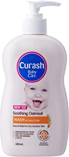 Curash Soothing Oatmeal Baby Wash 400ML