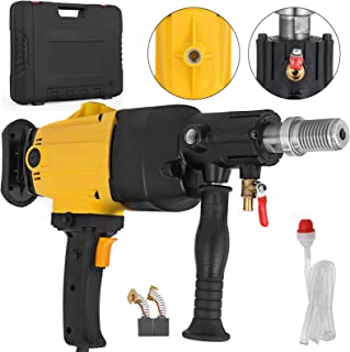 OrangeA 4 Inch 110MM Diamond Core Drilling Machine Handheld Diamond Core Drill Rig Variable Speed Wet Dry Core Drill Rig for Diamond Concrete Drilling Boring (4 Inch 110 mm)