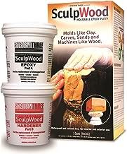 System Three 1-Quart SculpWood Moldable Epoxy Putty, 90301