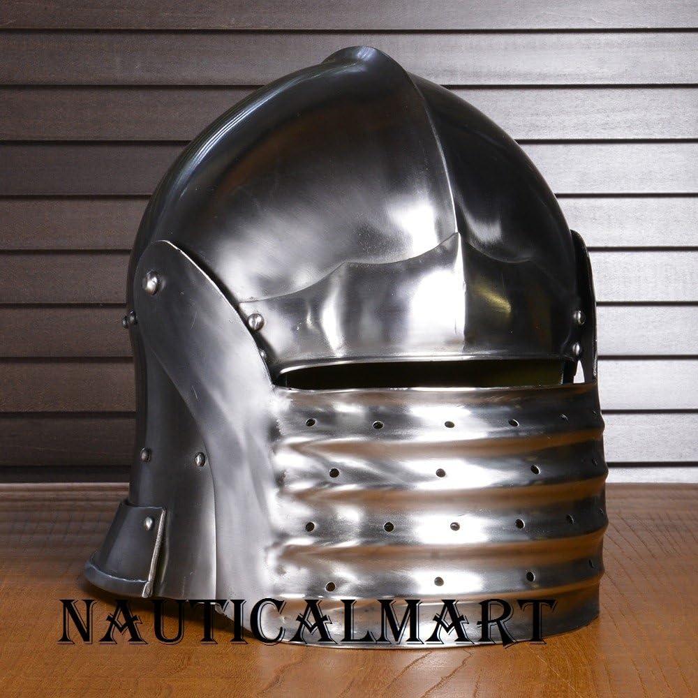 NAUTICALMART New York Mall Max 77% OFF Western Armor Medieval Salute Helmet Knight Europe