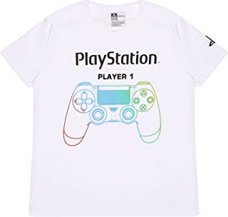 Playstation Controllers Boys Long Sleeve T-Shirt   Official Merchandise   Ages 6-13, Childrens Clothes, Gamer PS4 PS5 Kids...