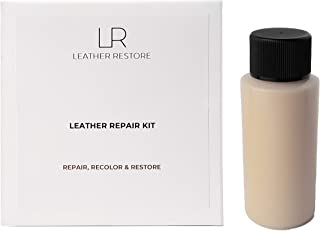 Leather Repair Kit with READY TO USE Color, BEIGE