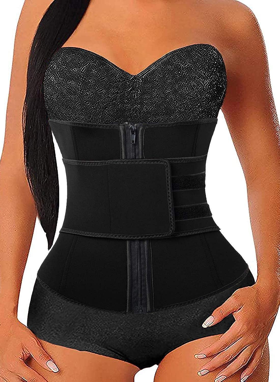 Women's Waist Trainer specialty shop Sauna gift Belt Body Neoprene Hourglass Shaper