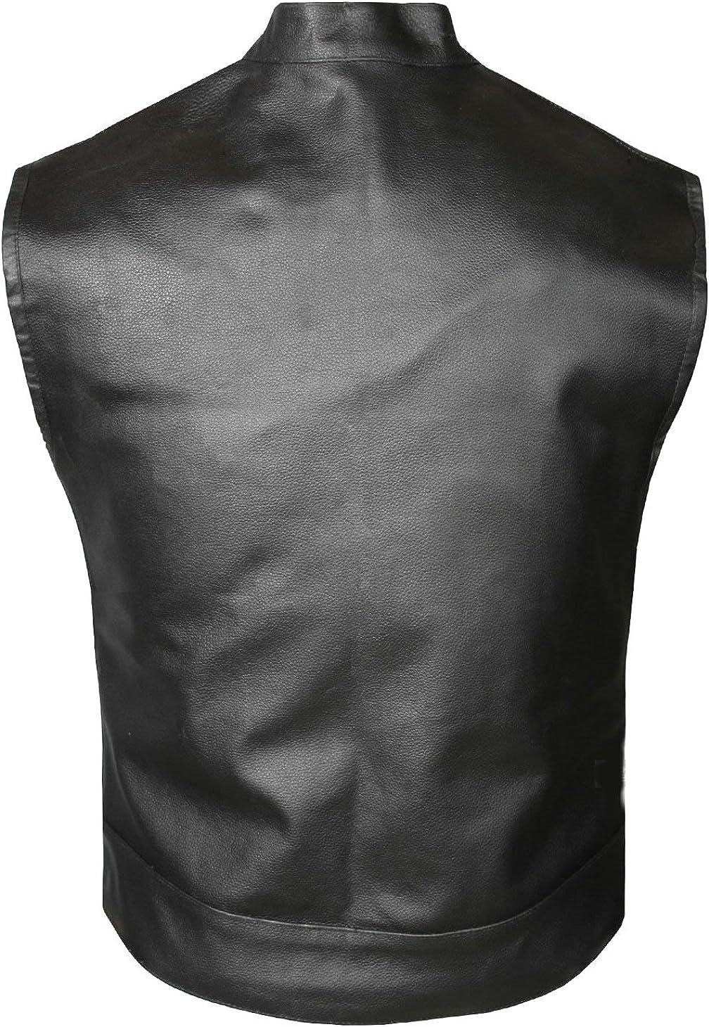 Classyak Men's Fashion Stylish Look Leather Vest