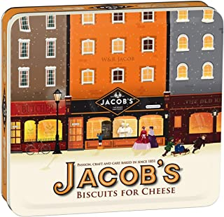 Jacob's The Baker Brothers Biscuits for Cheese Heritage Tin 300g