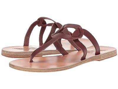 Ancient Greek Sandals Aspa Links (Chestnut Vachetta) Women
