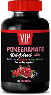 Anti inflammatory Supplement - Pomegranate Extract Formula - with ACAI, NONI, RESVERATROL and Goji Berry - Mangosteen Supp...