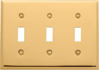 Best brushed brass switch plates Reviews