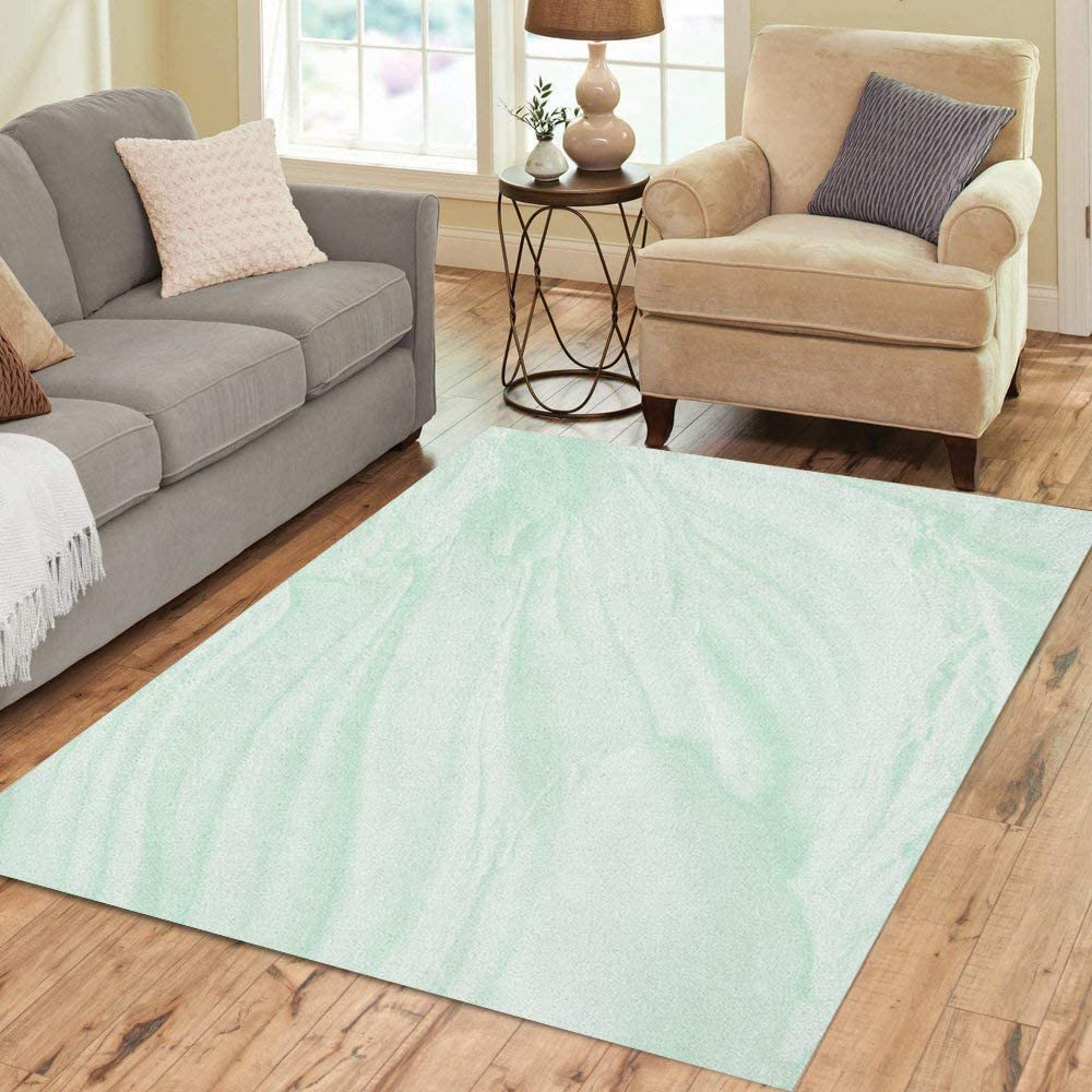 Pinbeam Area Rug Cosmetic Abstract of Max 45% OFF Toothpaste Mint Drie Green All items in the store