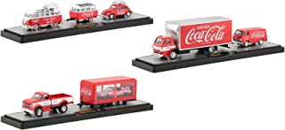 Auto Haulers Coca-Cola Set of 3 Pieces Great Release Limited Edition to 5,880 Pieces Worldwide 1/64 Diecast Models by M2 Machines 56000-TW01
