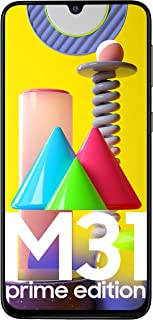 Samsung Galaxy M31 Prime Edition (Space Black, 6GB RAM, 128GB Storage) - Get Flat Rs 2,500 Instant Discount with select ba...