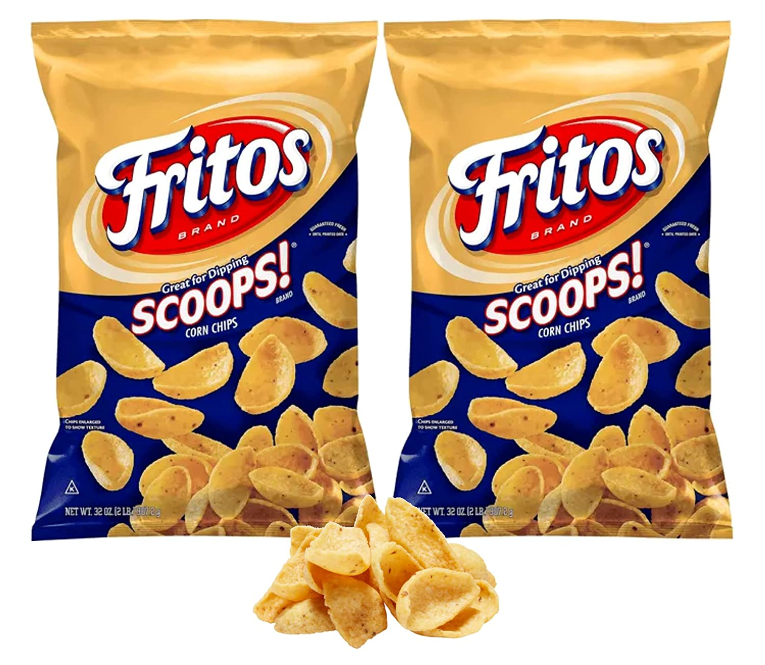 Fritos-Scoops Corn Chips 35% OFF Dippers Big Party - Pk Bag 2 67% OFF of fixed price 4 lb