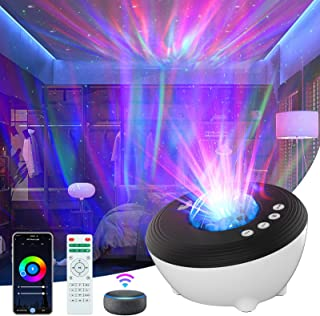 Sponsored Ad - Horatii Galaxy Projector, Star Projector with Bluetooth Music Speaker and 5 Sleep Aid White Noises, LED Gal...