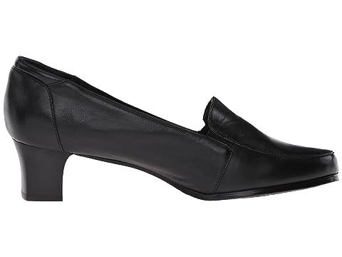 Leathermocha propre Noir Trotteurs En Achetez Cuir votre Gloria 0FqOOp