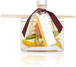 Andaluca Forbidden Flower Oasis Botanical Reed Diffuser | Large 5.5 Fluid Ounce Bottle | Floral Aromas of Jasmine, Lilac, Honeysuckle and Rose | Floral Home Fragrance