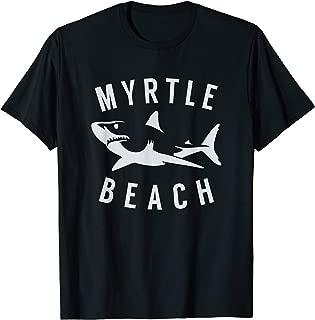 Myrtle Beach South Carolina T Shirt Shark SC Souvenir