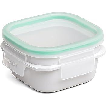 cm. Alt. 11x11x6 Oryx 5025011 Recipiente Hermetico Plastico Cuadrado 400 ml