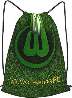 V-FL Wolf-Sburg Fc Bedruckte Sporttasche Sporttasche Reisetasche Schuhtasche Rucksack Einkaufstasche Kordelzug