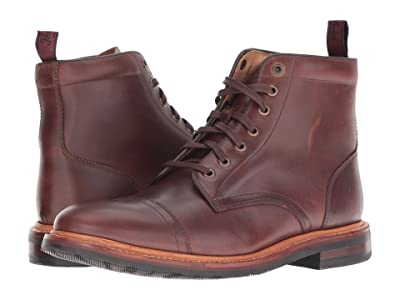 Florsheim Foundry Cap Toe Lace-Up Boot (Brown Horween) Men