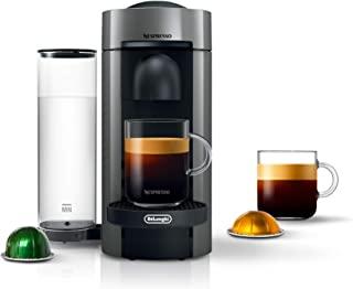 Nespresso Vertuo Plus Coffee and Espresso Maker by De'Longhi, Grey