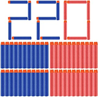 POKONBOY Bullets Compatible with Nerf Darts - 220 Pack Refill Bullet Darts Fit for Nerf Guns N-Strike Elite Series Gun Toy...
