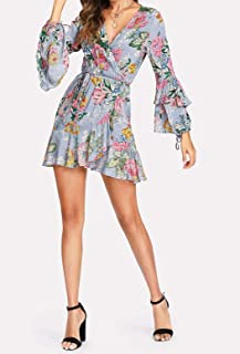 Petra Floral Self Tie Dress