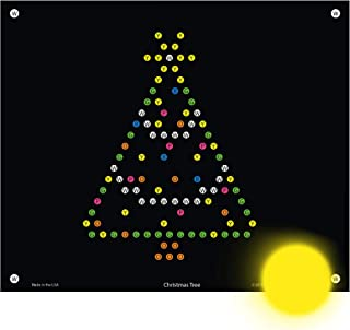 IllumiPeg Holiday Refill templates for Basic Fun Lite Brite Ultimate Classic (10 Sheets, 7x8)