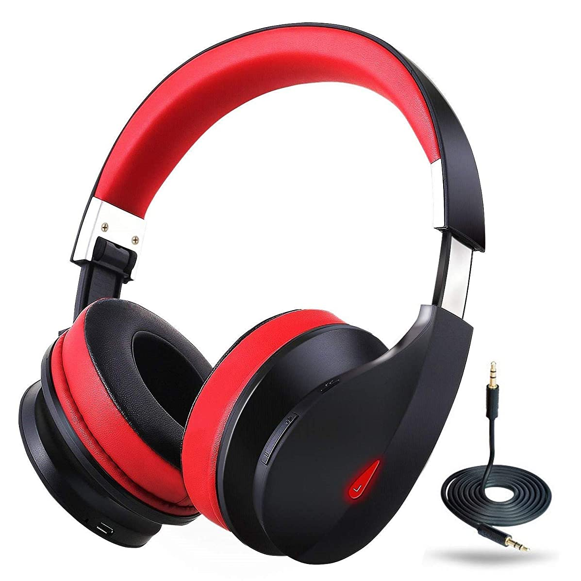 Bluetooth Headphones Over Ear with Microphone ausdom Wired Wireless Headphones Foldable Headsets
