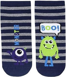 Katia & Bony Monster Men Step Cotton Socks - Made in Turkey
