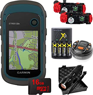 $219 » Garmin eTrex 22x: Rugged Handheld GPS with 16GB Camping & Hiking Bundle 010-02256-00