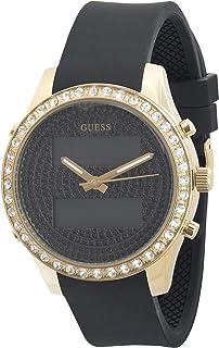 جس ساعة رسمية للنساء، سيليكون، انالوج-رقمي - W0818L2