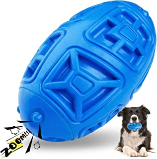 Sponsored Ad - Jemesx Dog Squeaky Toy for Large Breed, Durable Dog Chew Toys Almost Indestructible for Extreme Dog, Tough ...