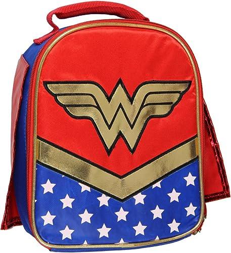 DC Wonder Woman Soft Kit Lunch Box Kühltasche, isoliert mit Kap