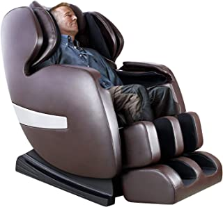 Massage Chair by KTN, Zero Gravity Massage Chair, Shiatsu Massage Chair with S-Track, 3D Massage Chairs Full Body and Recliner with Heat, Vibrating & Foot Roller (Brown)