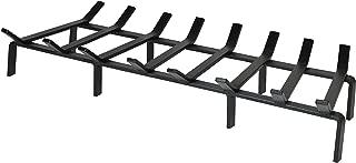 SteelFreak Heavy Duty Steel Fireplace Grate - Made in The USA (36-Inch)