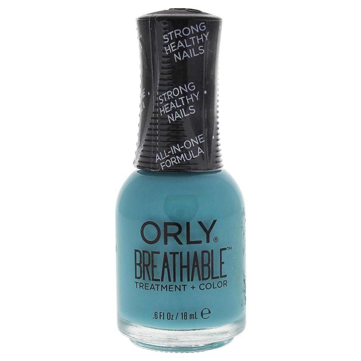 評価宿命ステートメントOrly Breathable Treatment + Color Nail Lacquer - Detox My Socks - 0.6oz / 18ml