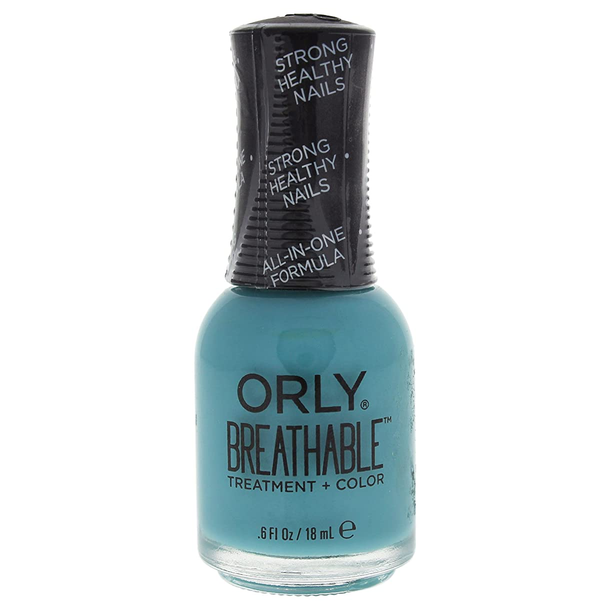 添付行進安西Orly Breathable Treatment + Color Nail Lacquer - Detox My Socks - 0.6oz / 18ml