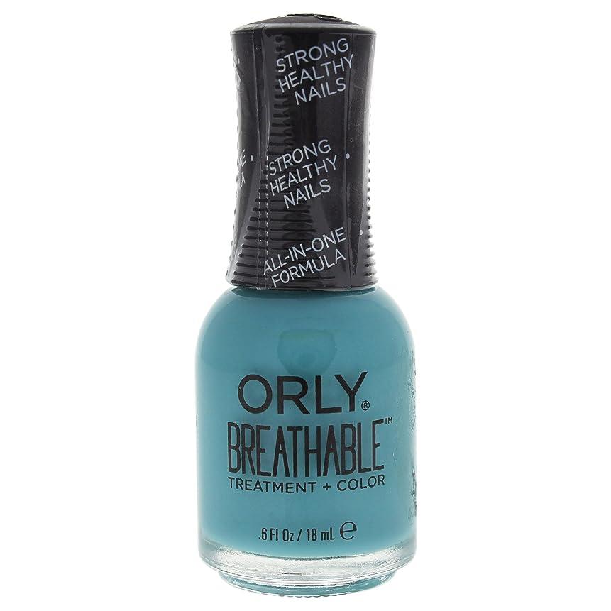 放射能爆発物次へOrly Breathable Treatment + Color Nail Lacquer - Detox My Socks - 0.6oz / 18ml