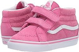 (Hearts) Azalea Pink/True White