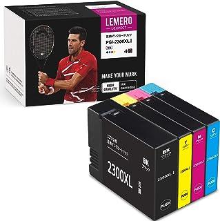 【LEMERO UEXPECT】Canon(キャノン)用 PGI-2300XL(BK/C/M/Y) 互換インクカートリッジ 4色セット 増量タイプ 対応機種 MAXIFY MB5030 / MB5130 / MG5330 / MB5430 / ...