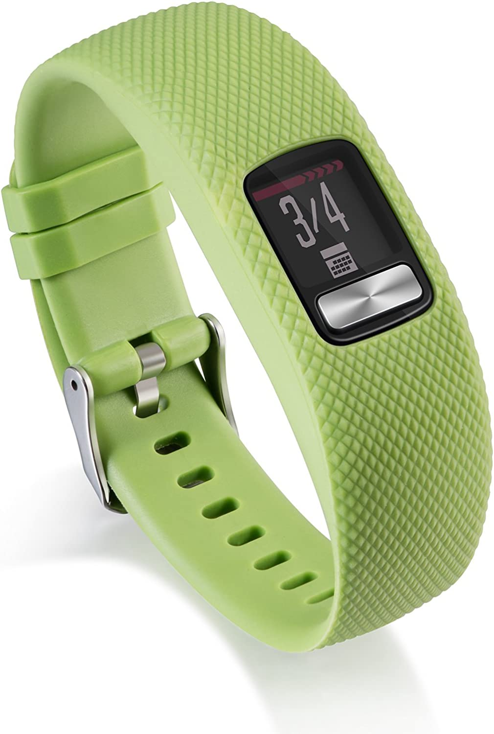 AWINNER Bands Compatible for Garmin vivofit 4,Replacement Sport Colourful Band for vivofit 4 Activity Tracker (Green, Small)