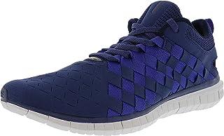 Nike 耐克 Free Og 14 Woven Mens Blue Textile Athletic Lace Up Training Shoes 10