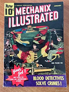 MECHANIX ILLUSTRATED January 1940 Magazine: Nazis Listening for Pamphlets, Gasoline Autos on the Way Out?, A Home-Made Shooting Gallery for the Cellar