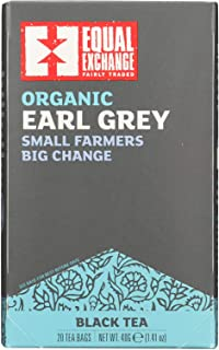 Equal Exchange Black, Earl Grey Tea (6x20 BAG)