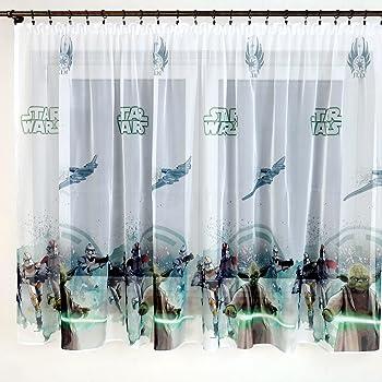 Paire Star Wars partie 150B x 150L Chambre rideau Disney