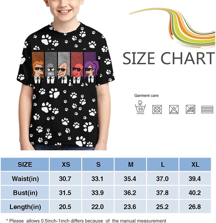 Futu-Rama Short Sleeve Shirts Funny Teens Shirt Top