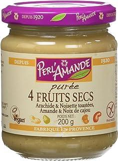 Perl'Amande Purée 4 Fruits Secs Bio 200 g - Lot de 3